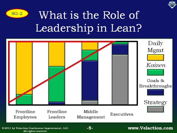 leadership roles in daily management