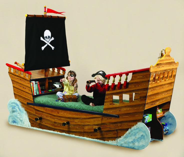 disney pirate ship bed
