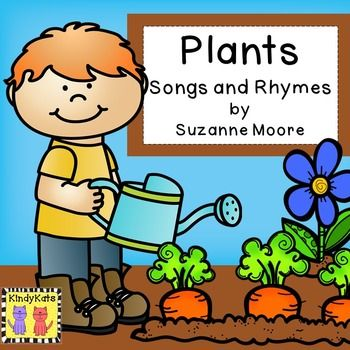$ Grow student knowledge of plant needs, plant parts, and parts we eat with these cute circle-time songs and rhymes. Theyll all add plenty of pizzazz to your springtime plant studies. Content Includes: 18 songs and rhymes A Rebus Pocket Chart Poem 3 Posters Flannel Boad Pieces Vocabulary Cards Fun Plant Facts (located in the directions)See the thumbnail for the Table of Contents.