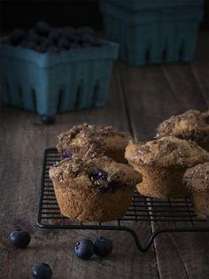 """¿Os había dicho ya que los muffins de arándanos son mis preferidos en el mundo entero? De hecho, creo que es """"por culpa"""""""