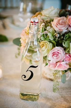 Water carafe and pastel flowers (Photo by Kate Connolly)