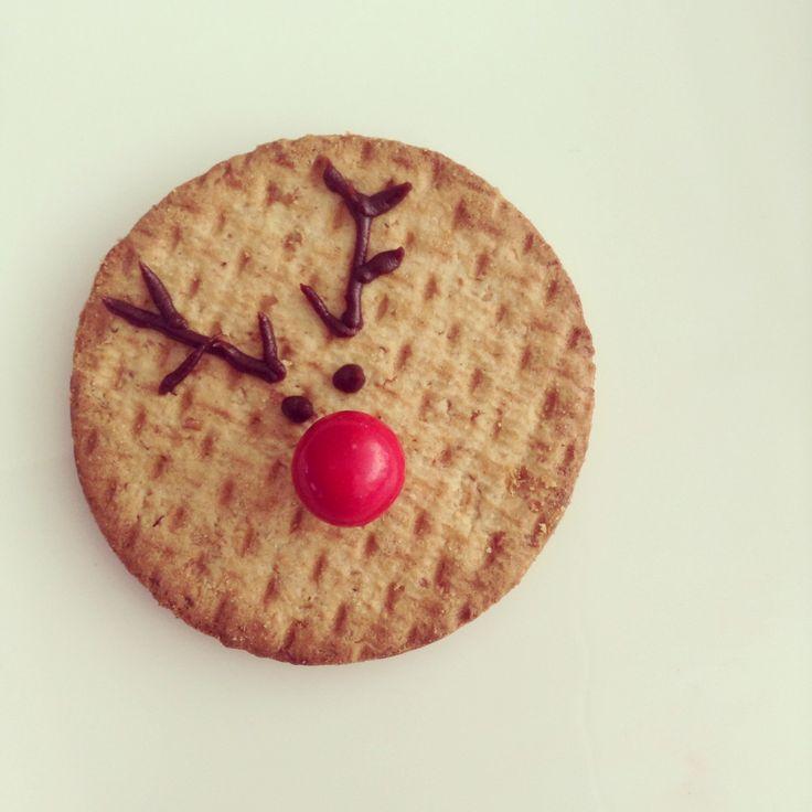 Reindeer healthy cookie