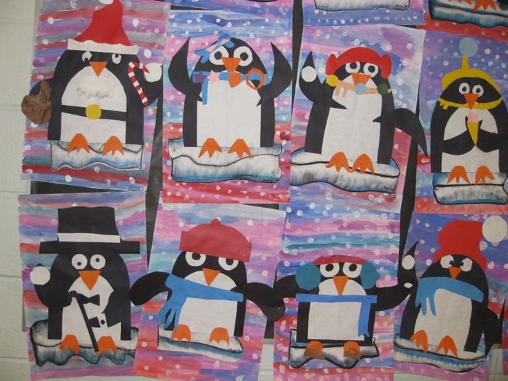 Playful penguins, gr.2