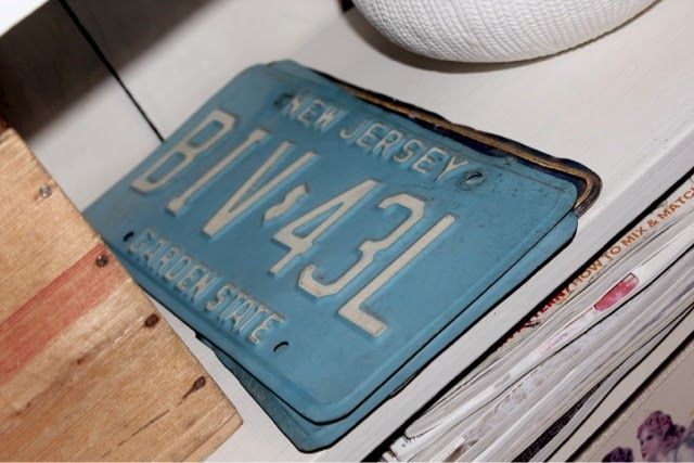 Wallas Verden: Gamle amerikanske bilskilt. Bilde fra min blogg