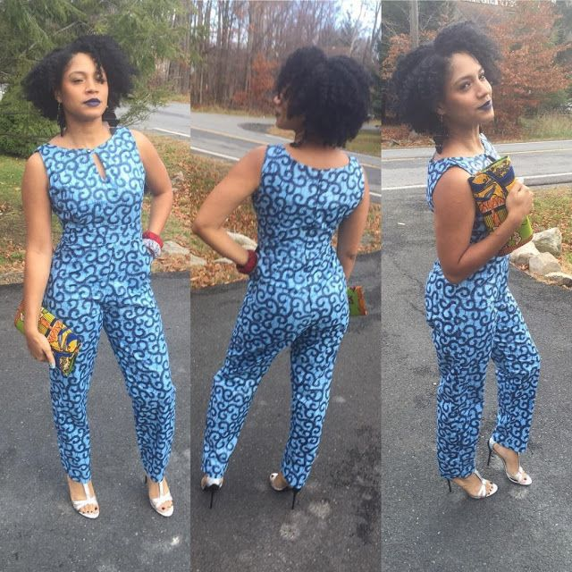 Simple Ankara Jump Suits Styles http://www.dezangozone.com/2015/11/simple-ankara-jump-suits-styles.html