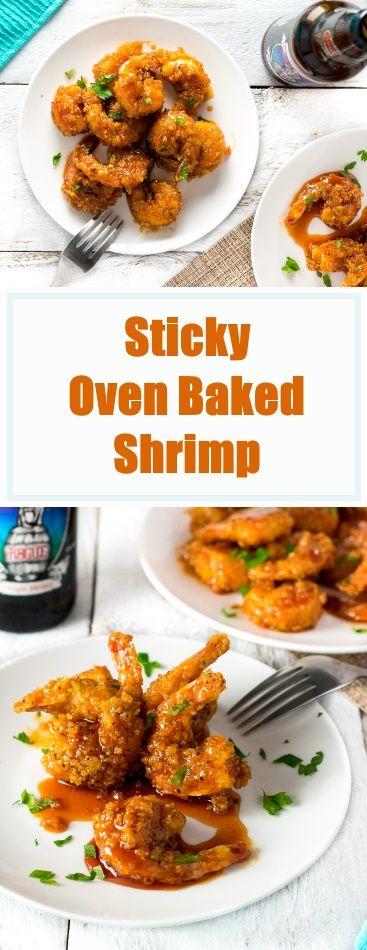 Sticky Oven Baked Shrimp Recipe