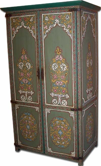 painted armoire...