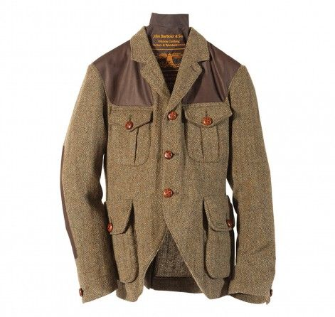 Barbour Tweed Jacket - from the Men's Beacon Heritage Collection