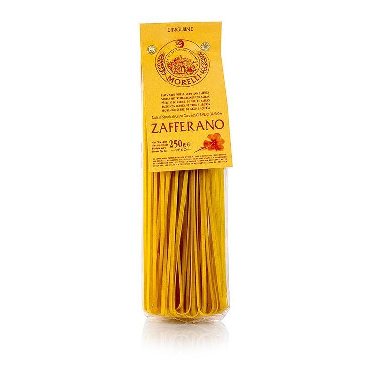 Morelli 1860 Linguine se šafránem a pšeničných klíčků, 250g