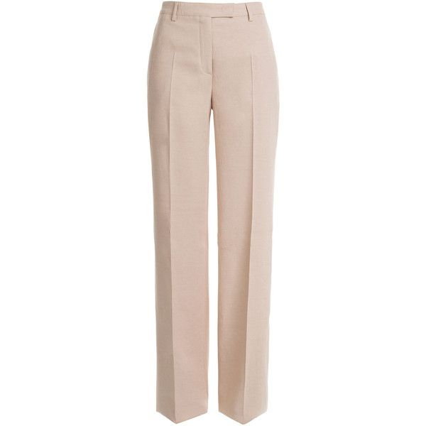 EMILIO PUCCI Jersey-Linen Shantung Pants and other apparel, accessories and trends. Browse and shop related looks.