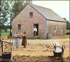 Doucet House, Village Historique Acadien/ Maison doucet, Village Historique Acadien