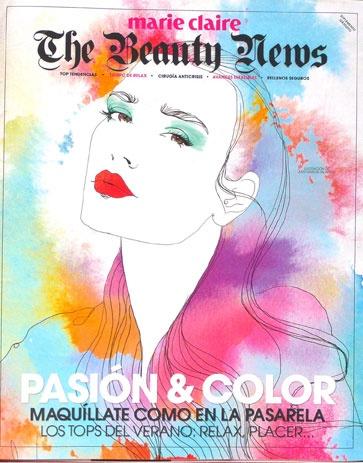 Ilustración de Judit García-Talavera para la portada del suplemento de belleza del número de mayo de la revista Marie Claire. Aprende con ella en Tenerife el 2 y 3 de junio! http://www.iamd.es/?p=35