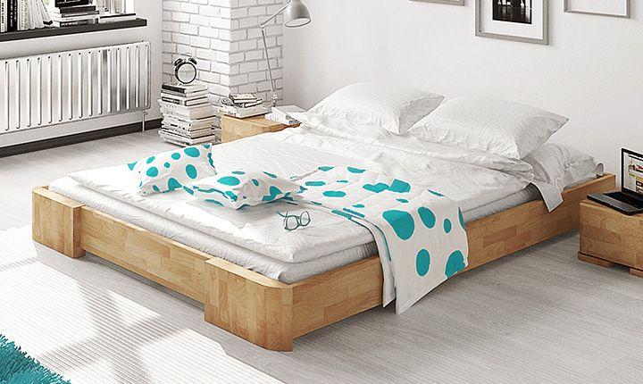 Znalezione obrazy dla zapytania rama łóżka 200x200 bez zagłówka