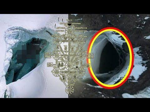 南極の水中に潜む巨大UFO? グーグルアースで発見! 移動していることも判明! - YouTube