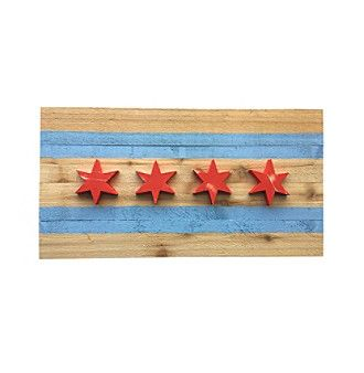 Muirwood Reclamations Reclaimed Wood Chicago Flag