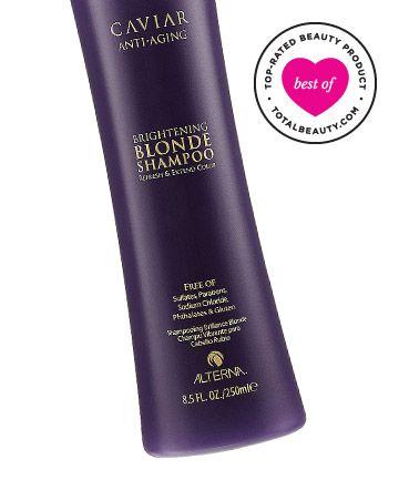 Best Purple Shampoo No. 2: Alterna Caviar Anti-Aging Brightening Blonde Shampoo, $36