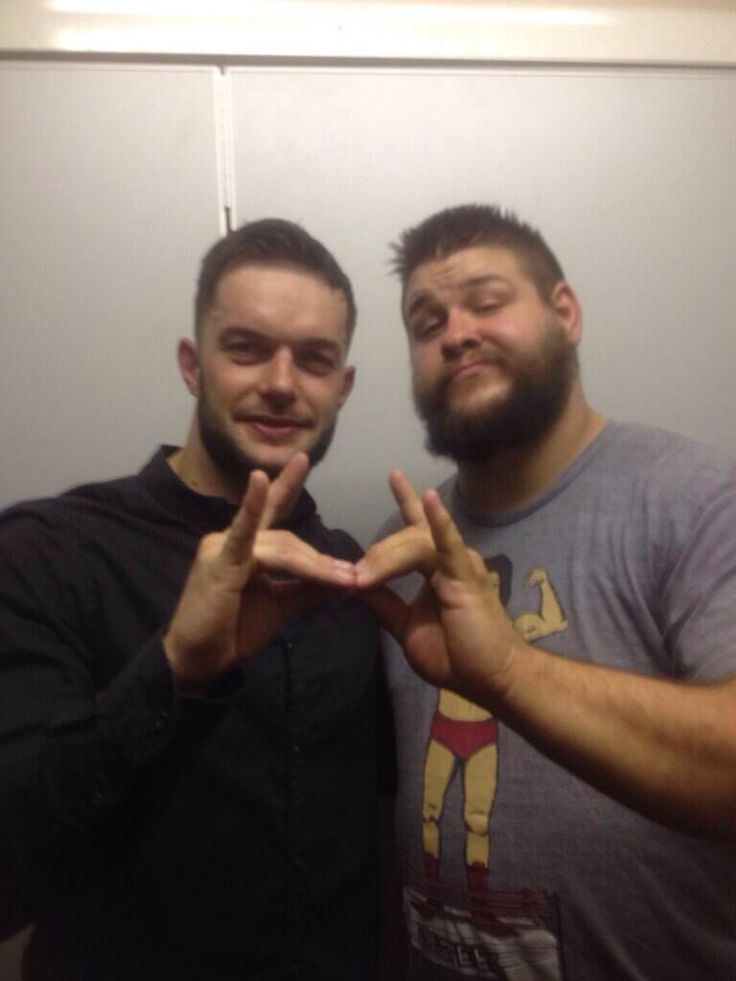 Prince Devitt and Kevin Steen...we know where this is headed to...#WWEBulletclub