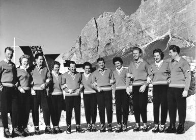 Olympiamannschaft Deutschland 1956