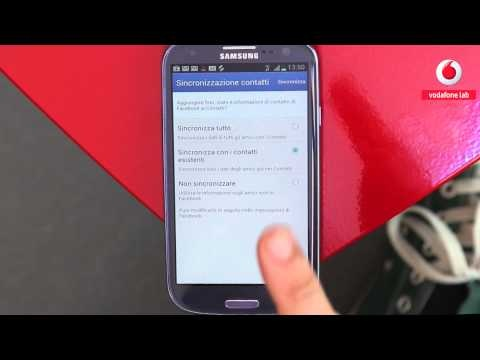 Come faccio a: configurare Facebook su un Samsung Galaxy S III.