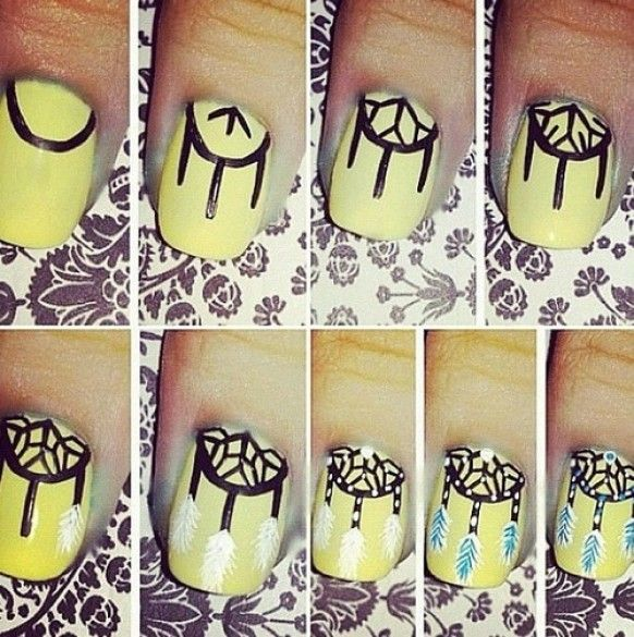 Awesome Nail Art DIYs The Beautiful You! - Trend2Wear