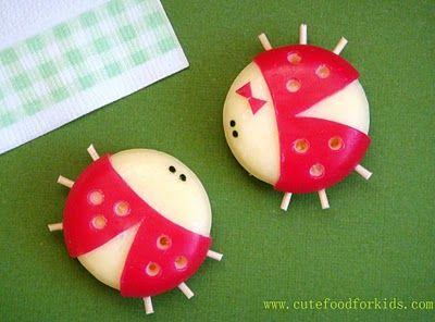 Babybel Cheese Ladybug