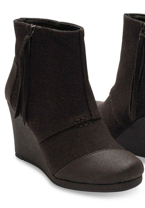 TOMS Wedges are the simplest way to add a dash of chic to your everyday look.