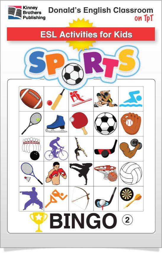 esl games sports bingo ela ideas for kids esl word work games vocabulary games. Black Bedroom Furniture Sets. Home Design Ideas