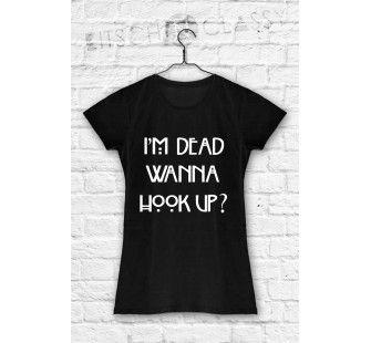 koszulka AHS horror story i'm dead wanna hook up ?
