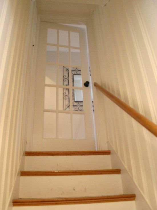 51 best images about stairs on pinterest staircase Painting paneling in basement
