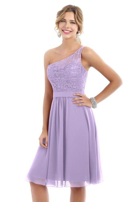 Style 4224 Bridesmaid Dress by Alexia Designs in Lilac