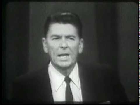 Video: Ronald Reagan Speech from October 27, 1964 -- If ever we need truth, if ever we need a speech that echoes these same words, it is right now.