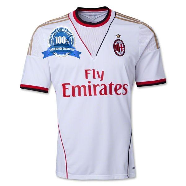 2013-14 AC Milan Away Football Shirt