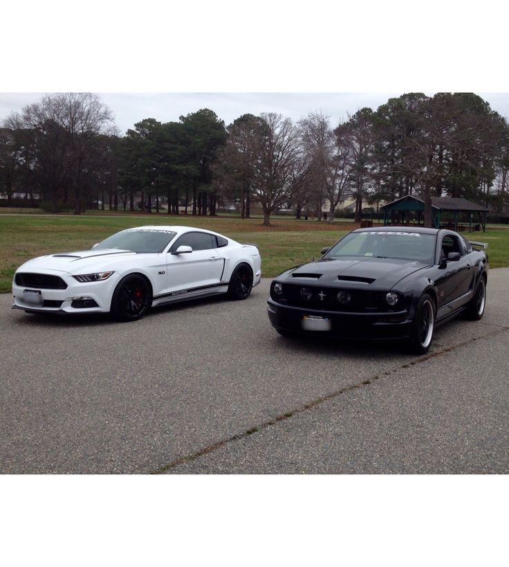 2016 & 2007 Mustang GT
