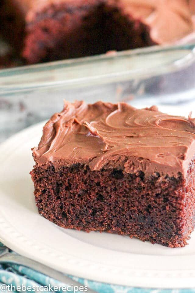 The Ultimate In Moist Chocolate Cakes This Sour Cream Chocolate Cake Is A Great Take Sour Cream Chocolate Cake Sour Cream Recipes Cake Recipe With Sour Cream