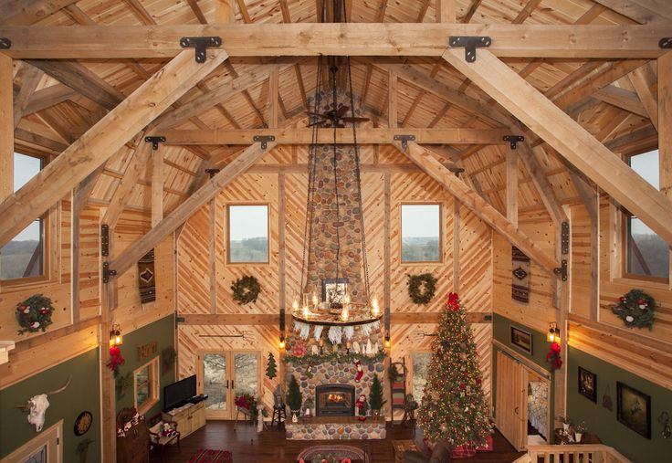 Pin By Joy Pallas Jones On Cabin Ideas Gambrel Barn