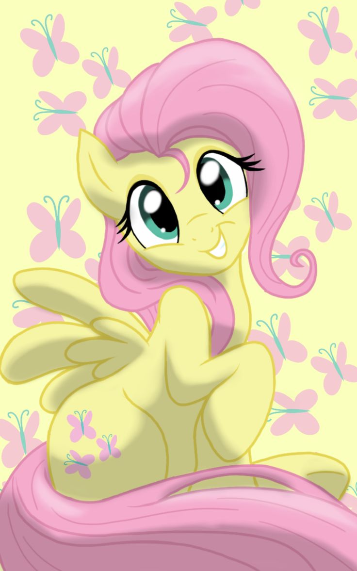 Fluttershy by JaneCanvas on DeviantArt