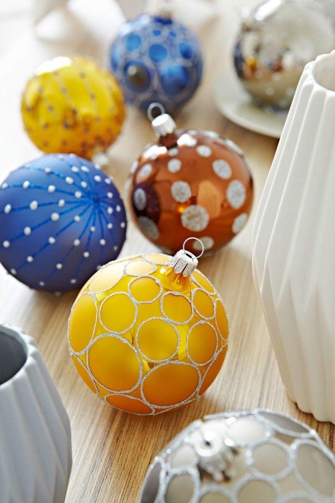 Weihnachtsbaumkugeln / christmas tree balls | HEITMANN DECO | Christmasworld 2016 | TOP FAIR Blog