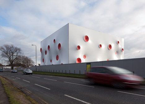 Olympic Shooting Venue by Magma Architecture _ London 2012  Everything will be recycled after the games!!!
