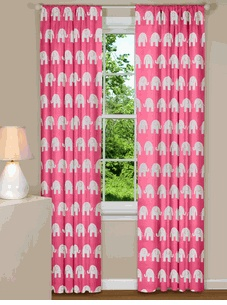 Kids Curtains | Nursery Room Window Treatments | Baby Room Curtains and Drapes | Bedroom Valances