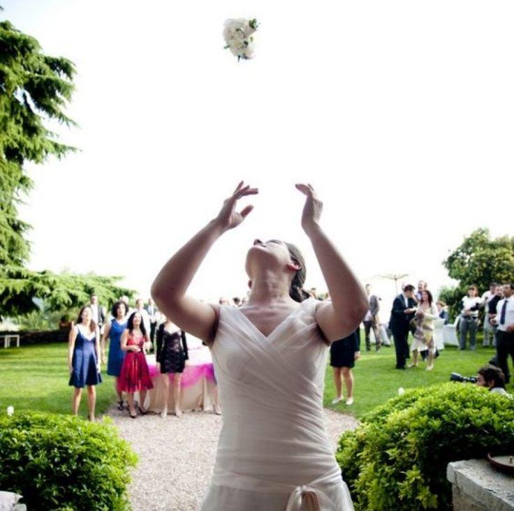 @Il lancio del bouquet…chi si sposa??