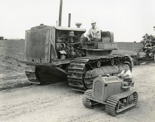 Image result for Old Caterpillar Equipment Museum