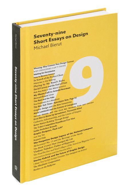Seventy nine Short Essays on Design   Pentagram