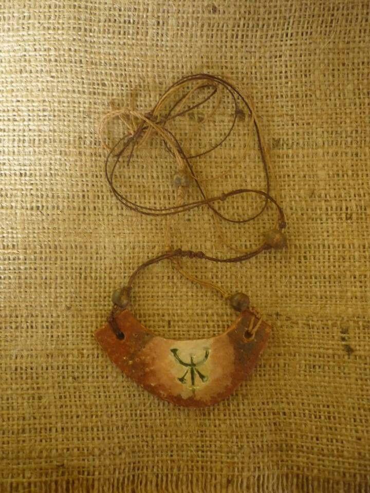 Collar ceramica
