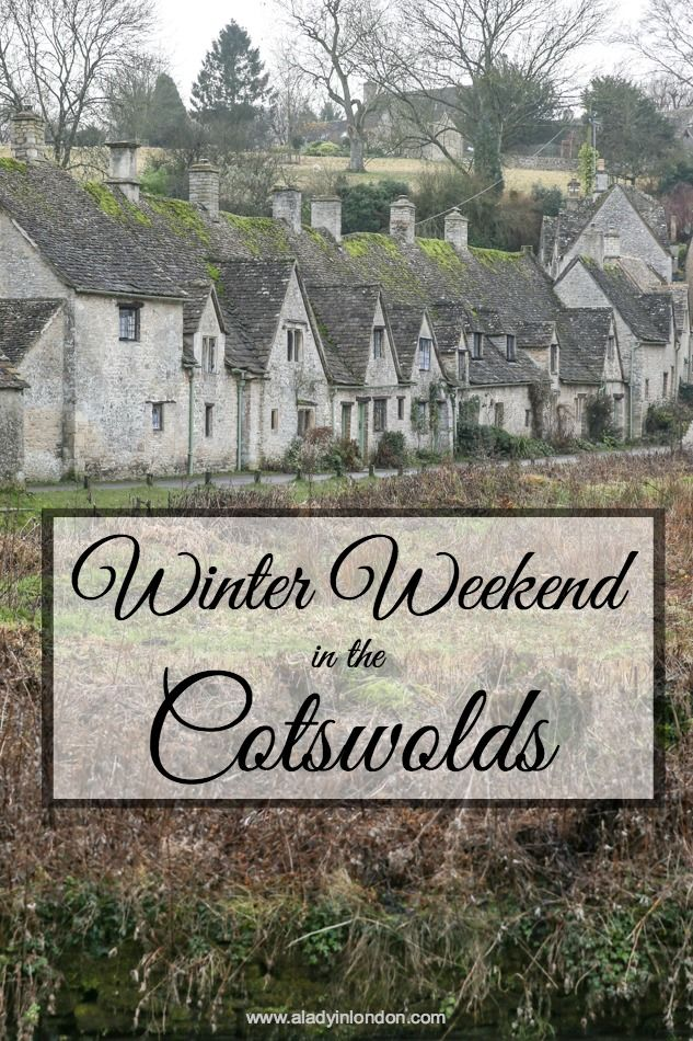 Winter Weekend in the Cotswolds