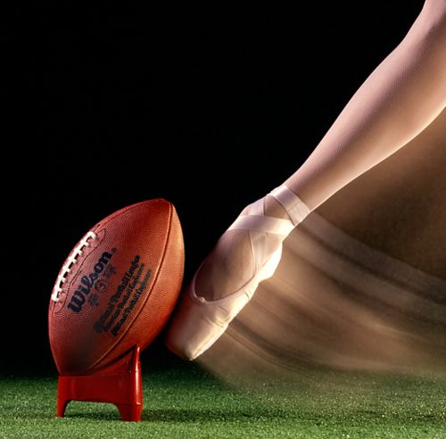 If ballet were easy, it'd be called football. Classic.