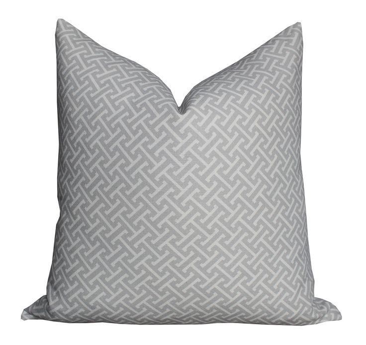 Hanover Pillow in Dove Grey