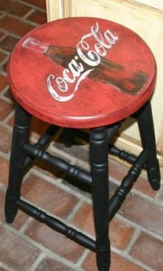 petrol memorabilia stool - Google Search