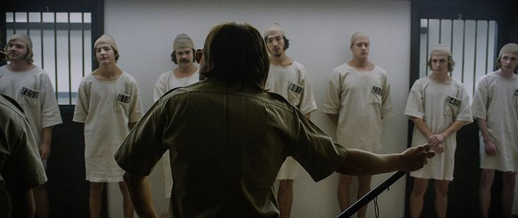 "A scene from ""The Stanford Prison Experiment,"" a new movie inspired by the famous but widely misunderstood study."