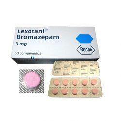 Bromazepam 3mg Lexotanil 200 Tabletten von Roche