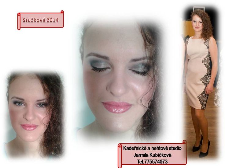 stužkovací večírek, líčení včetně úpravy vlasů